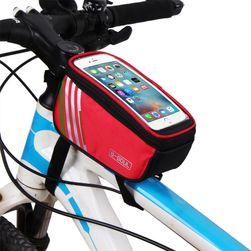 Vázra tehető kerékpár, biciklis táska telefontartóval - 4 változat