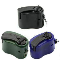 Kryzysowa ręczna ładowarka na telefony komórkowe, MP3 i MP4