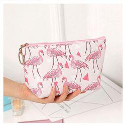 Kozmetikai táska flamingókkal - 2 változat