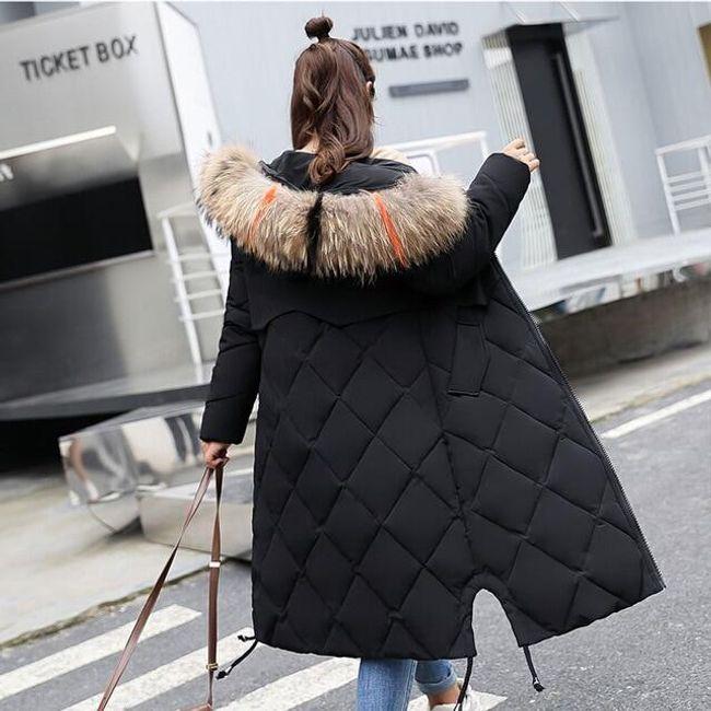 Dámský zimní kabát Angelica - 8 barev Černá-XL 1