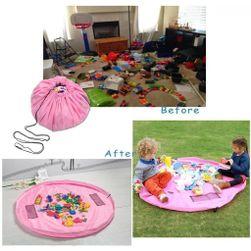 Vak na hračky ružový - veľký PD_1536257