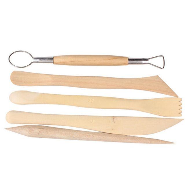 Instrumenti za vajarstvo i keramiku - 5 komada 1