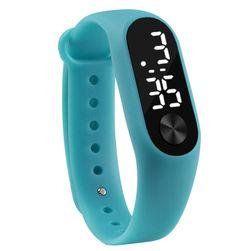 Силиконов часовник с дигитален циферблат