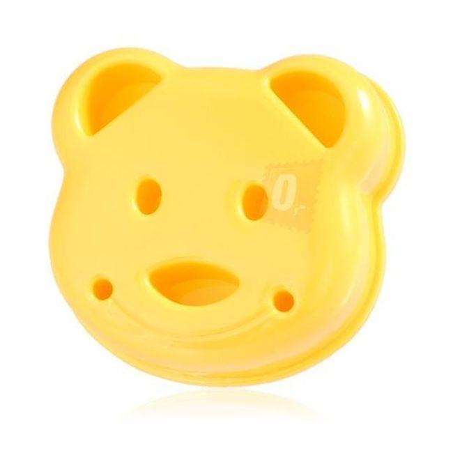 Forma ve tvaru medvídka nejen na sendviče 1
