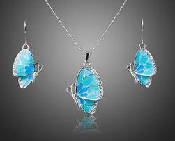 Set nakita - plavi leptir