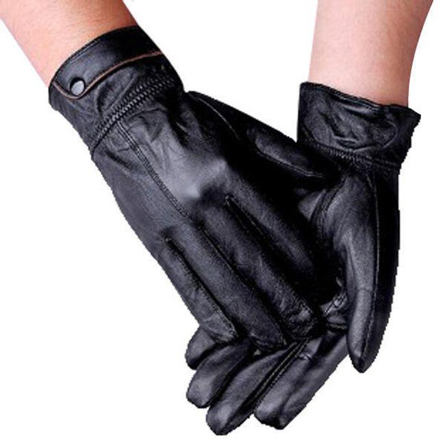 Zimní univerzální rukavice z ovčí kůže 1
