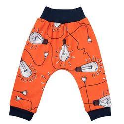 Dziecięce bawełniane spodnie dresowe RW_teplaky-Bulbs-Nbyo308