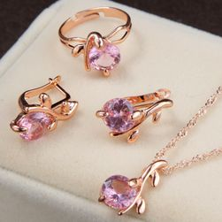 Elegancki zestaw biżuterii