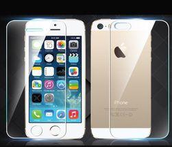 Elülső és hátsó ultravékony edzett üveg iPhone 5 / 5S-hez