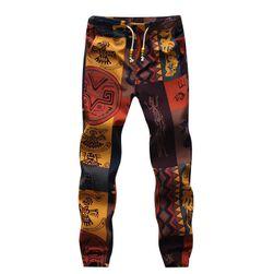 Muške pamučne pantalone za jogu