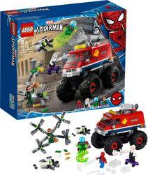 SUPER HEROES Spiderman v monster trucku vs. Mysterio 76174 STAVEBNICE SR_957304