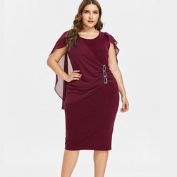 Дамска рокля в плюсови размери Leonie