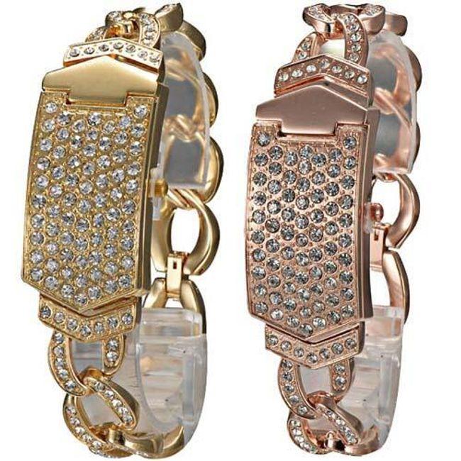 Luxusní dámské hodinky se skrytým ciferníkem 1