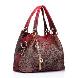 Элегантная женская сумка с четким рисунком