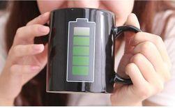 Cană ceramică Battery