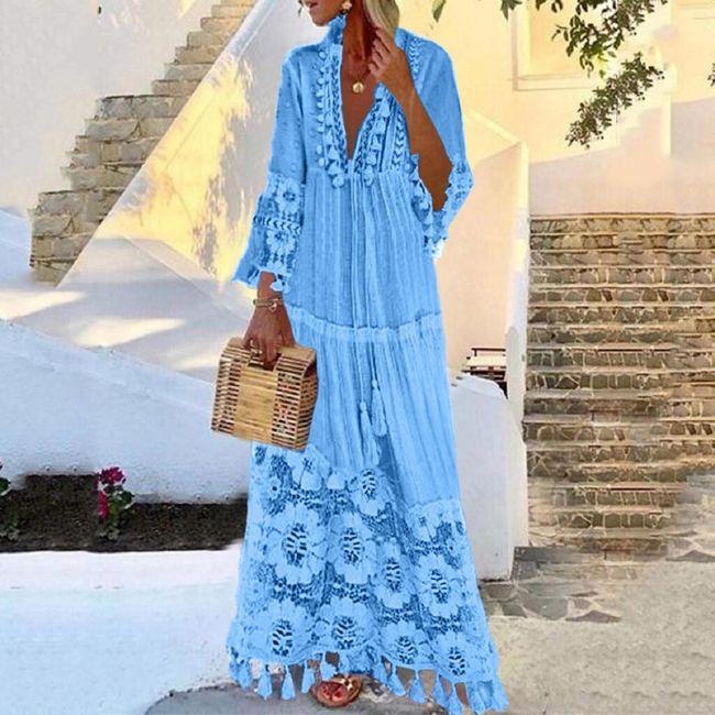 Dámské maxi šaty Feronia 1