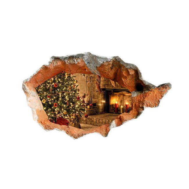 3D-s matrica karácsonyfa 1