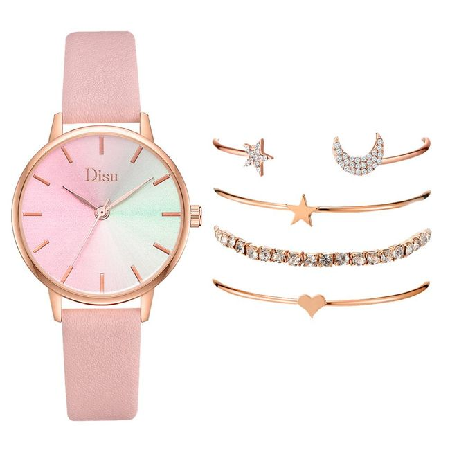 Dámské hodinky s náramky B08384 1