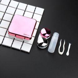 Krabička na kontaktní čočky se zrcátkem