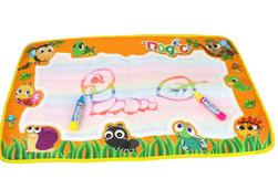 Juta rajz szőnyeg a kicsik számára