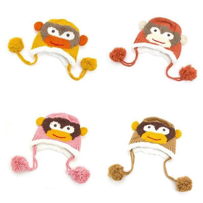 Gyerek sapka majommal 1