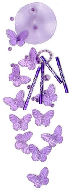 Zvonkohra s motýlky - tři varianty 1