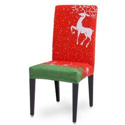 Vánoční potah na židli VZM041