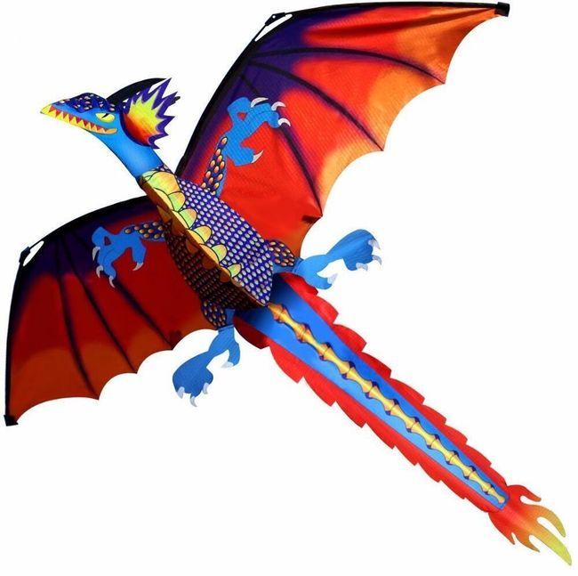Leteći zmaj sa drškom 1