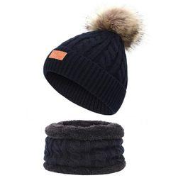 Зимна шапка за момичета Leanne