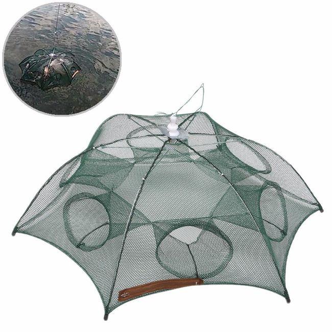 Ribiška mreža s šestimi luknjami - zložljiva 1