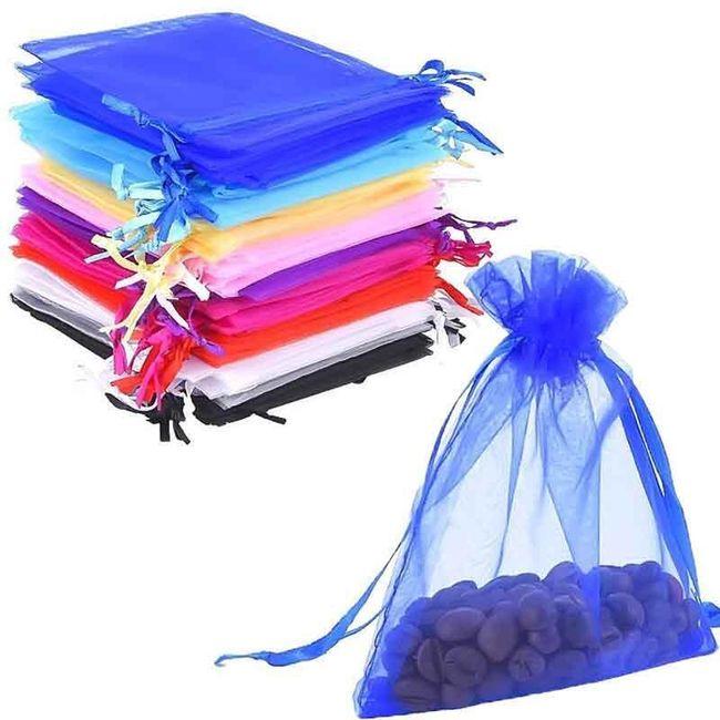 Renkli organze torba seti 1