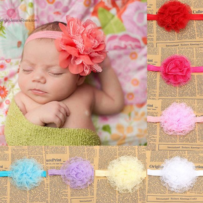 Милая повязка для новорожденных 1
