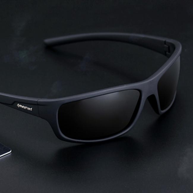 Modna polarizirana moška sončna očala s torbico 1