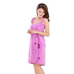 Osuškové šaty M878 Fialová