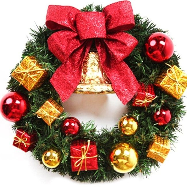 Vánoční věnec CH08 1