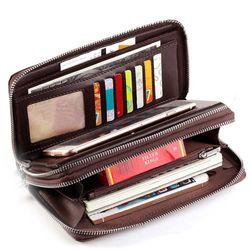 Pánská multifunkční peněženka s poutkem - 2 barvy