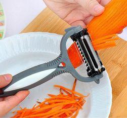 Multifunkcionalni okretljiv nož za ljuštenje povrća