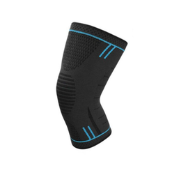 Эластичный ортез на колено - Синий цвет - размер L