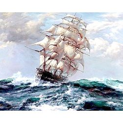 Obraz DIY do koloru - statek