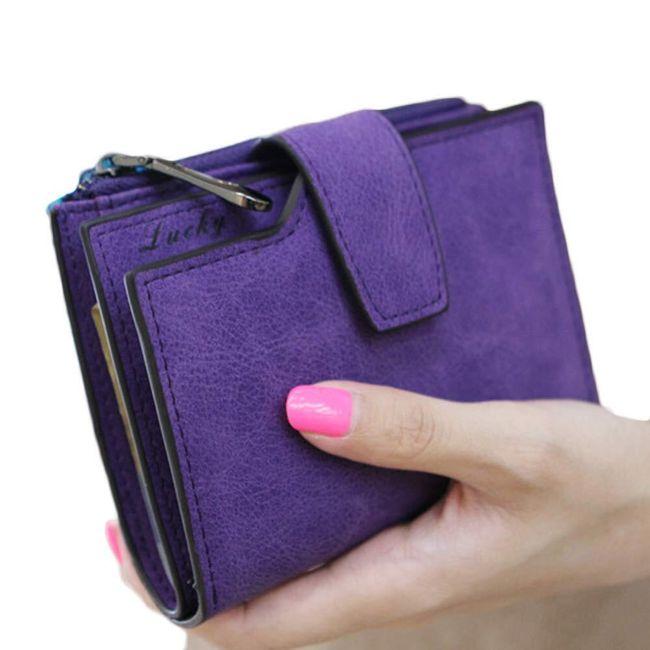 Dámská peněženka v drobném stylu - 5 barev 1
