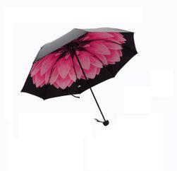 Umbrelă cu imprimeu în interior