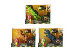 Dinosaurus na baterie s překvapením - se zvukem a světlem - 3 druhy RM_00542620