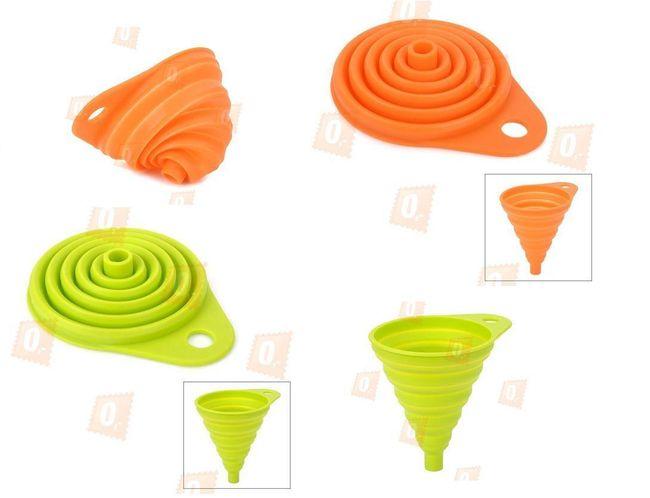 Silikonový trychtýř - na výběr ze 2 barev 1