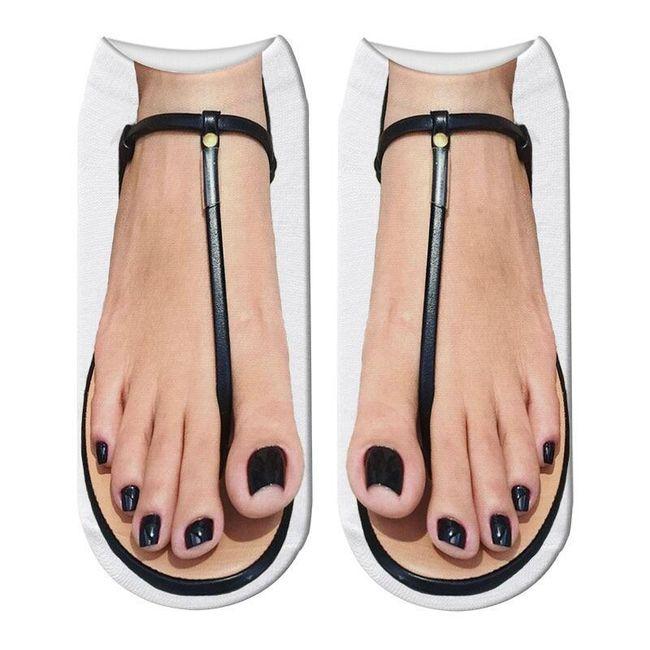 Női zokni B06156 1