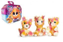 Zvieratko FUR BALLS plyš Touláček Tutti Frutti psík / mačka / lama s doplnkami v krabici 24x20x10cm RM_23403635
