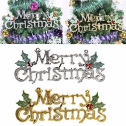 Decorațiune de agățat cu motive de Crăciun - Merry Christmas