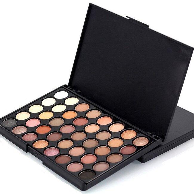 Paleta očných tieňov - 40 farieb 1