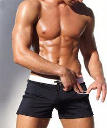 Pantaloni plajă pentru bărbați în culori multiple