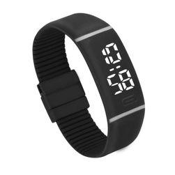 Силиконов LED часовник - 11 варианти