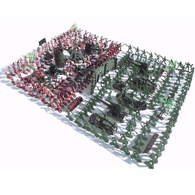 Set plastičnih vojaki 1